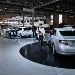 Saab at Paris Auto Show