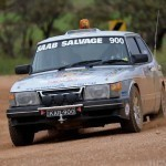 Saab 900 Kidney Kar Rally