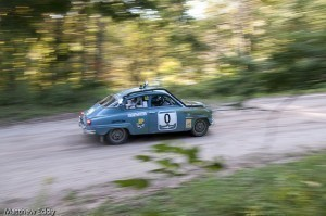 Blue Saab Rally