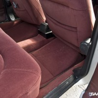 Nice detail at the rear seat in a 900 CD