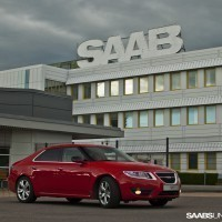 New Saab picture, Sweden-style!