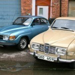 Saab 96s from the 1970s