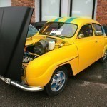 Saab 96 competition car