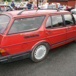 Saab wagon - yes, it was there!
