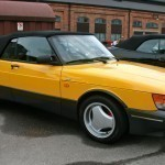 Classic MCY Saab 900 convertible