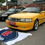 More Saab convertibles, including Viggen, which was well represented