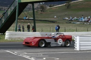 Historic racing at Baskerville
