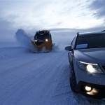9-3x followed by the snow plow. When somebody have made the first track, it´s easier for the rest to follow:)