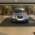 Saab 9-5 launch, Sweden