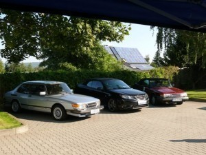 Saab 9-5 launch Germany