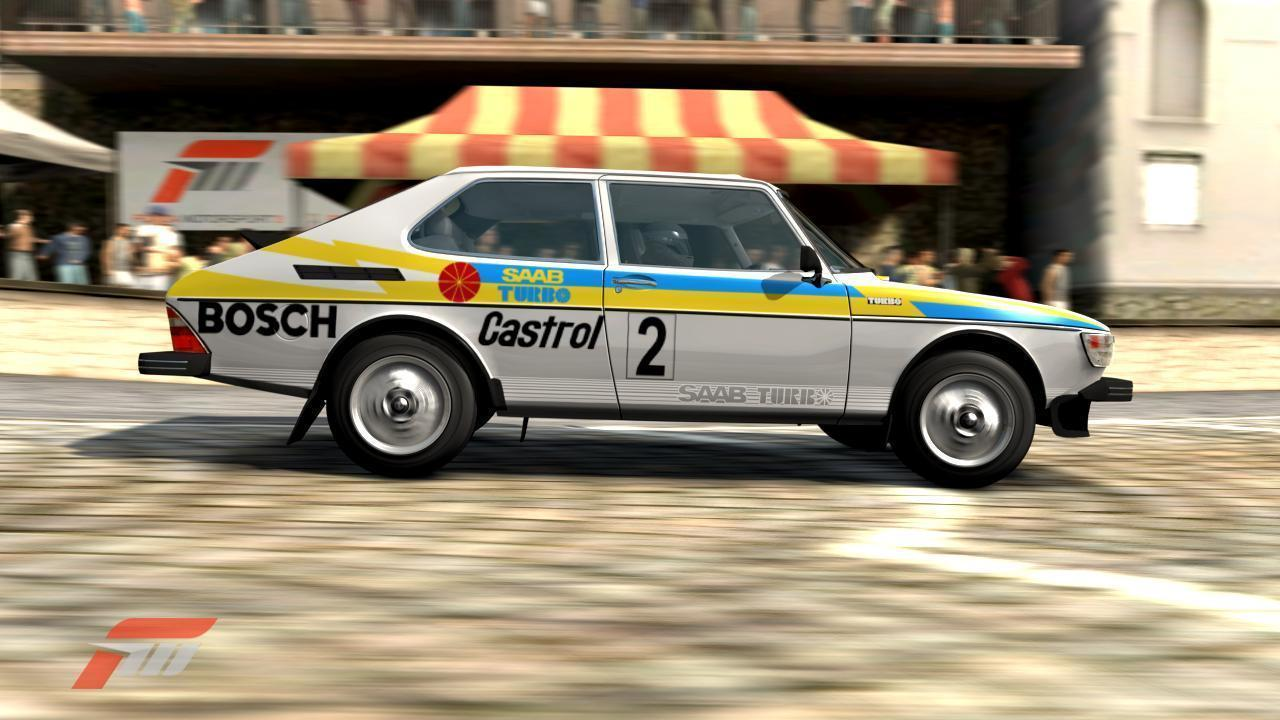 Video Games Saabsunited Saab 99 Engine Diagram Hes Also Been Applying Some Custom Rally Livery In The Classic Fashion