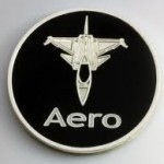 Saab Aero Plane Badge