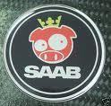 Saab Rally Pig Badge