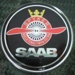 Saab Spyker Badge