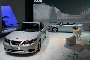 Saab Stand Day 2