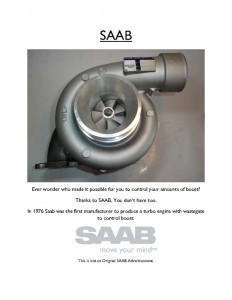 Saab ad competition