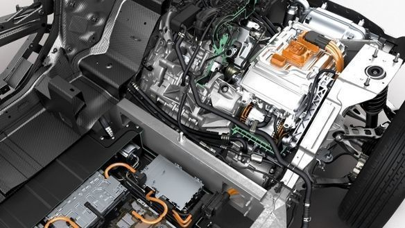 bmw i3 rear engine bay