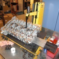 Disassembly the cylinder head