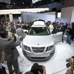 Saab 9-4x launch